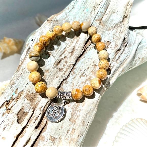 🤍BOHO caramel beaded bracelet -NEW!✨✨